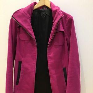 Mackage fushia 3/4 length wool coat